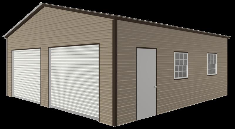 steel-garage-building