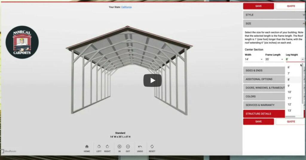 design a carport cover photo norcal carports